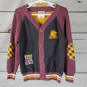 NWOT Harry Potter • 4t sweater cardigan letterman